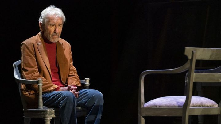 José Sacristán vuelve, a los 83 años, con  'Señora de rojo sobre fondo gris'