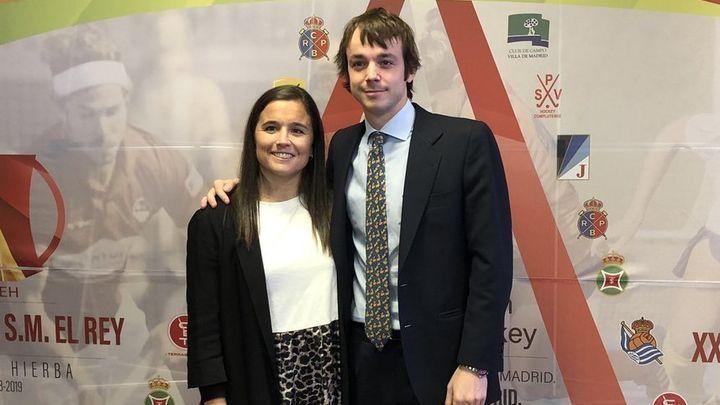 RocíoGutiérrez y Bosco Pérez-Pla, campeones de liga con el Club de Campo
