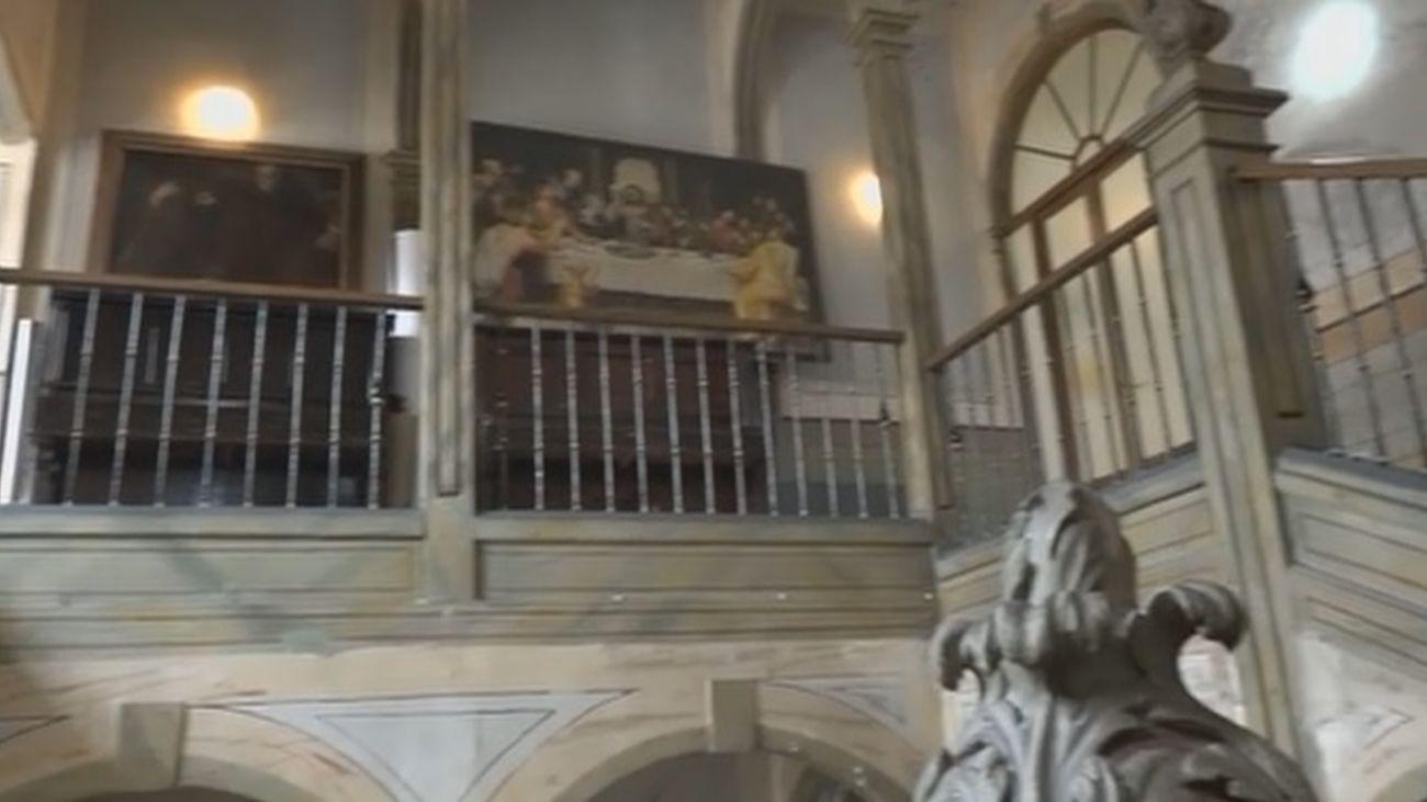 La escalera más peculiar de Madrid está en Alcalá