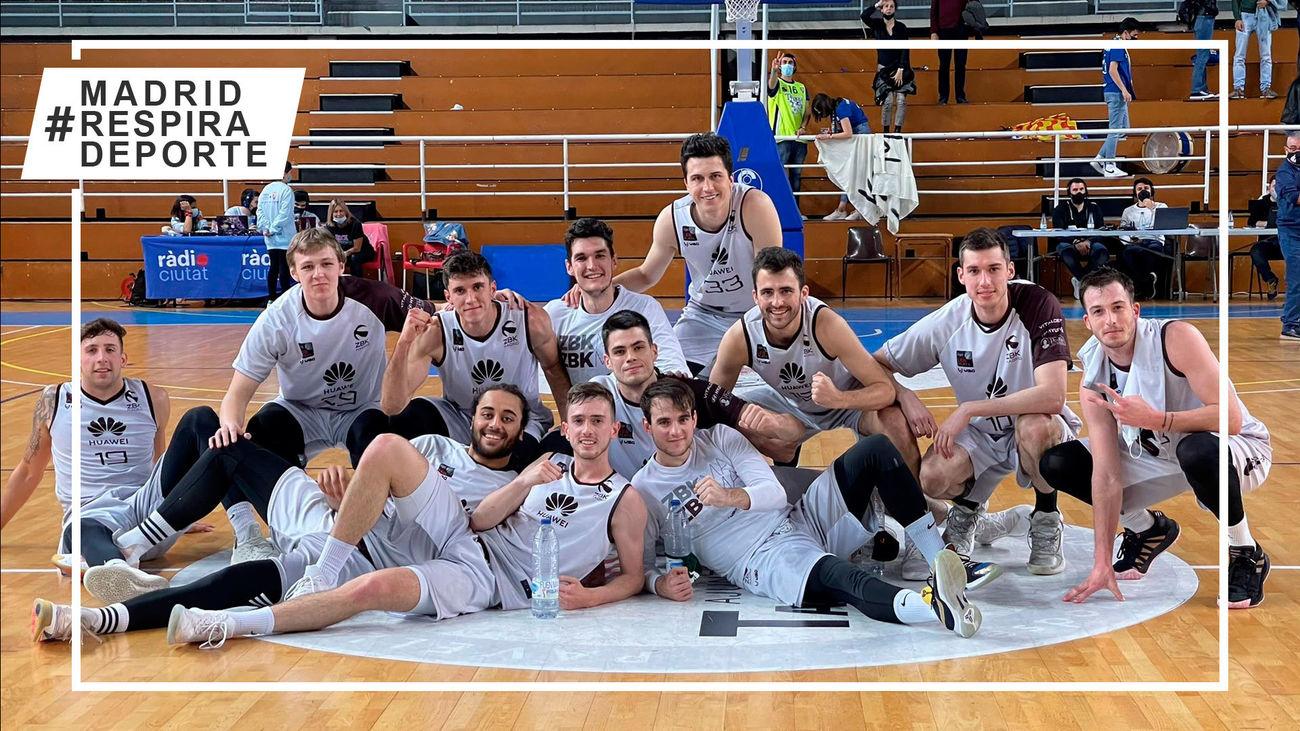 Basket Zentro Madrid logra la permanencia en la LEB Plata en su primer año¡