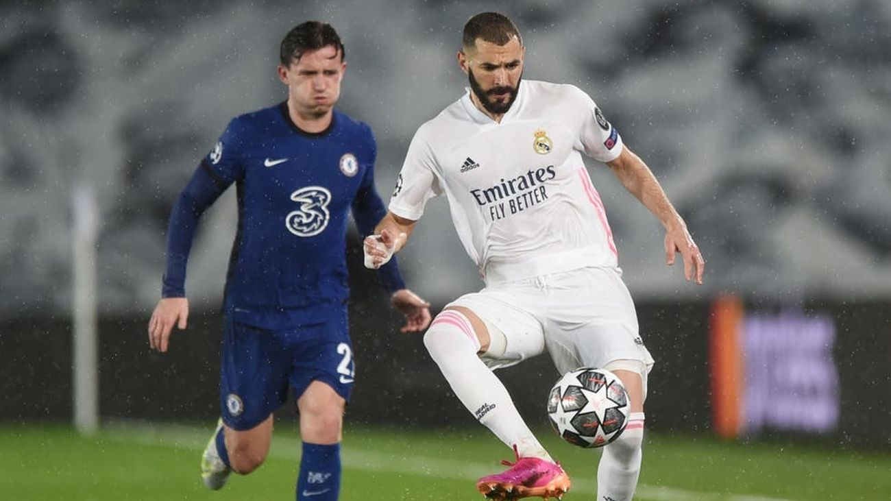 Benzema ante el Chelsea