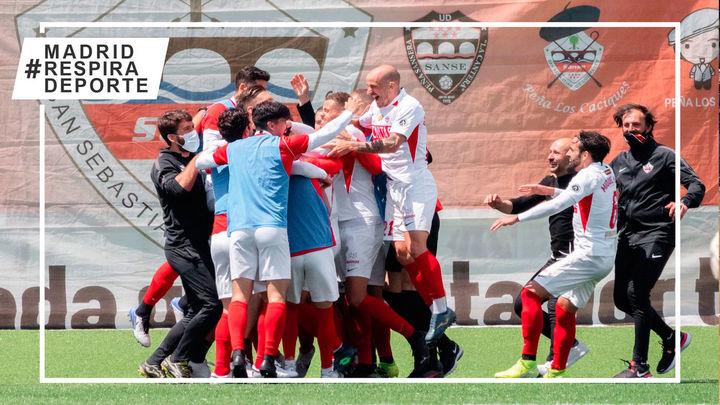 El Sanse se clasifica para los play off de ascenso a segunda división