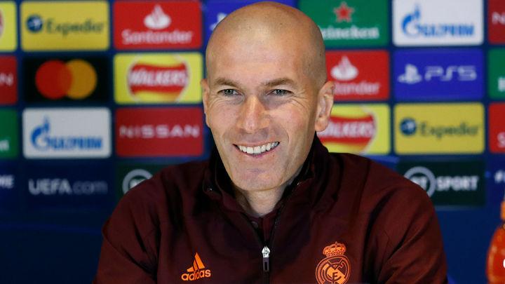 """Zidane: """"Estamos preparados para darlo todo en el campo y pasar a la final"""""""
