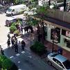 Un herido de bala durante un atraco en una joyería de la calle Ayala