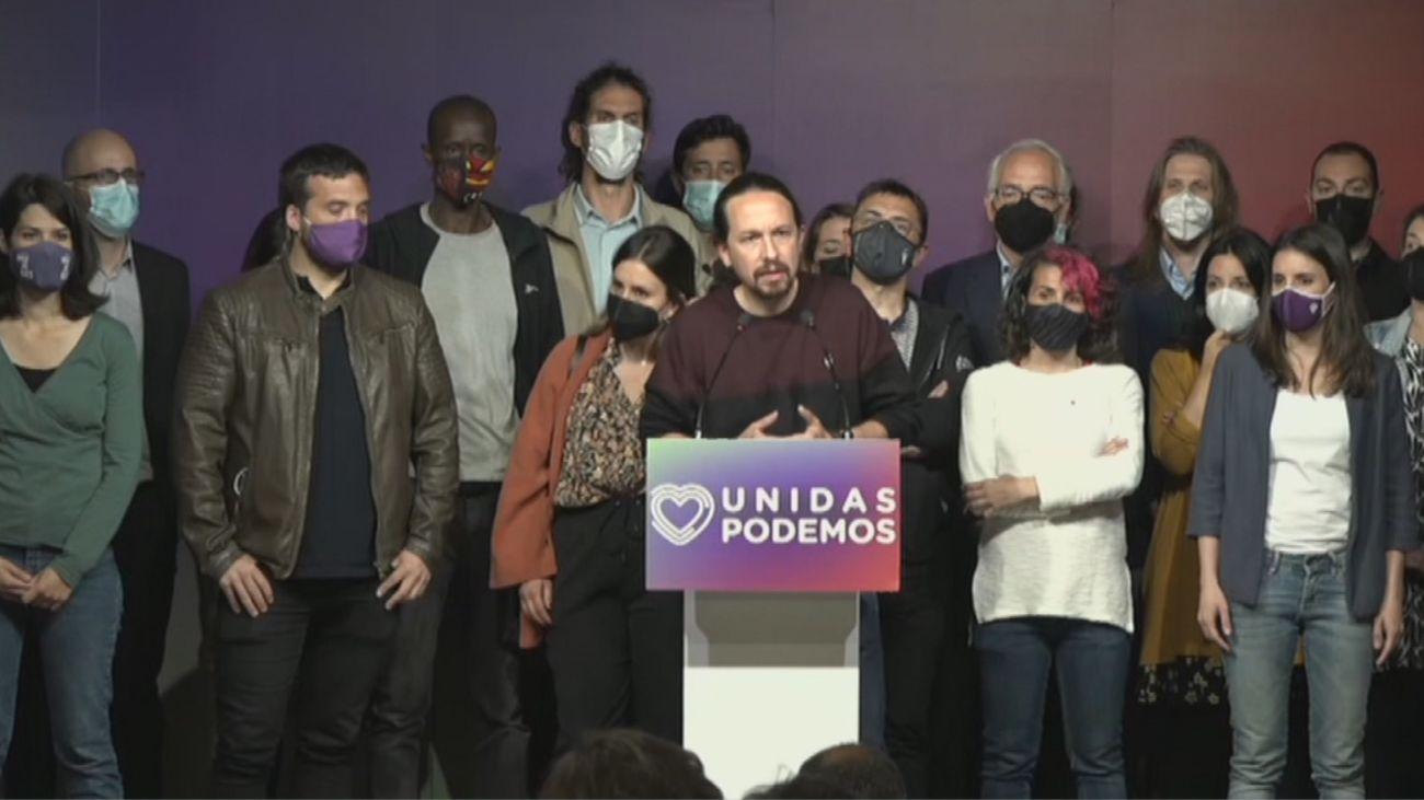Pablo Iglesias anuncia que deja  la política institucional y de partido