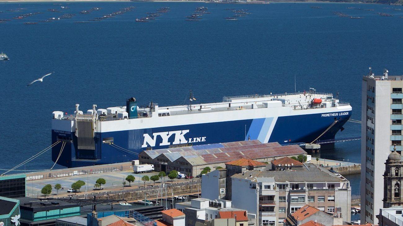 Alerta por la variante india del covid-19 en un barco en un puerto gallego