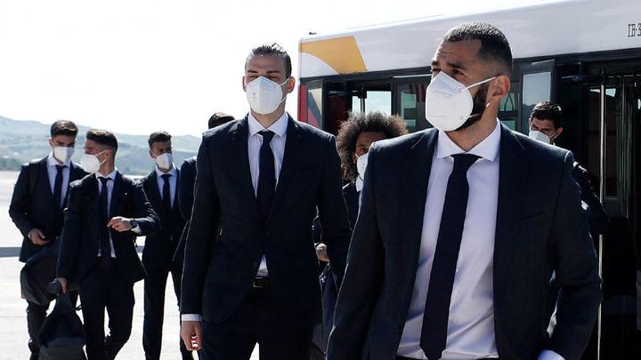 El Real Madrid llega a Londres