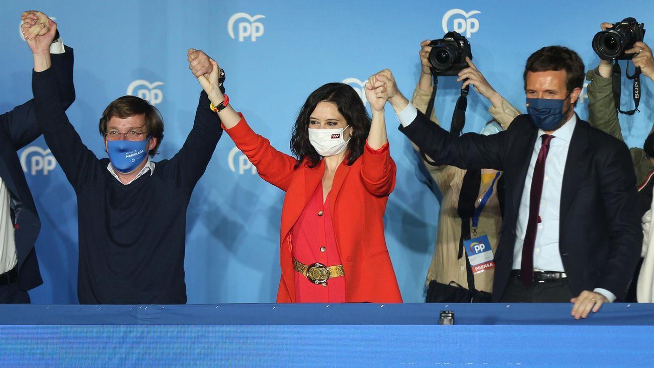La ganadora de las elecciones, Isabel Díaz Ayuso