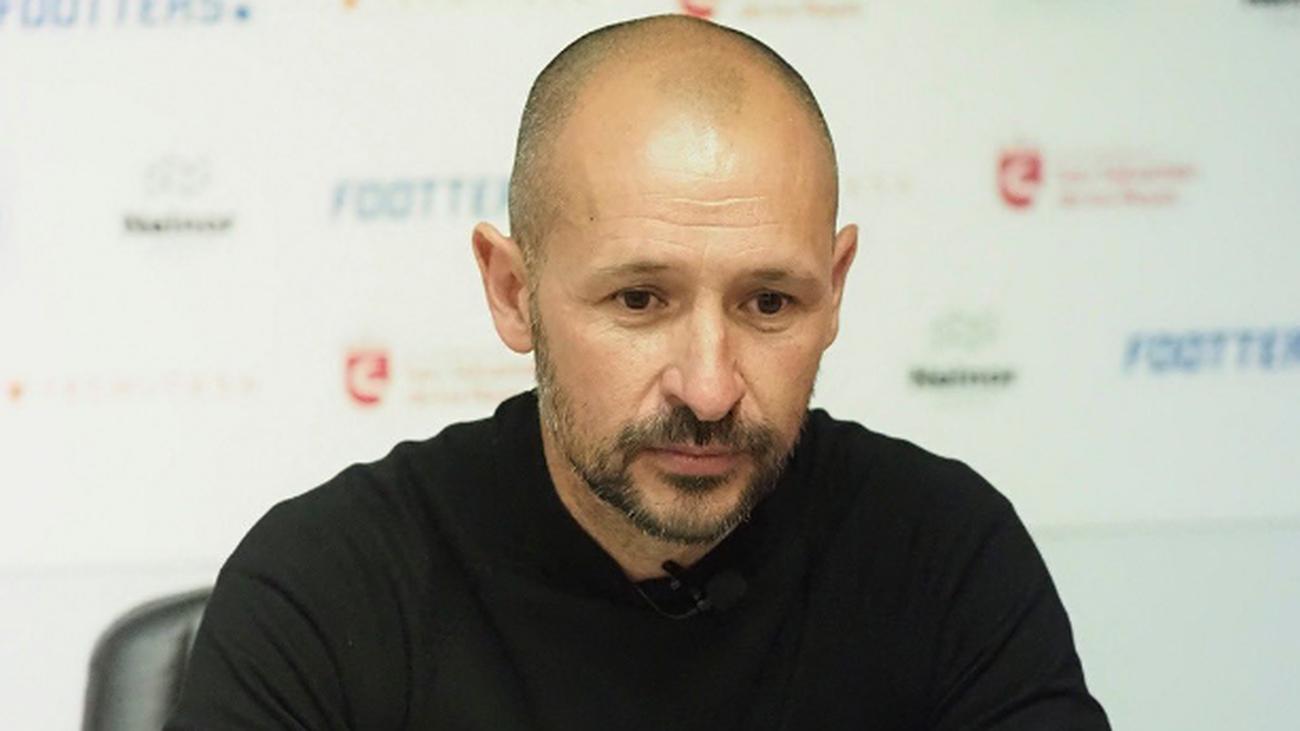 Marcos Jiménez, entrenador de la UD San Sebastián de los Reyes