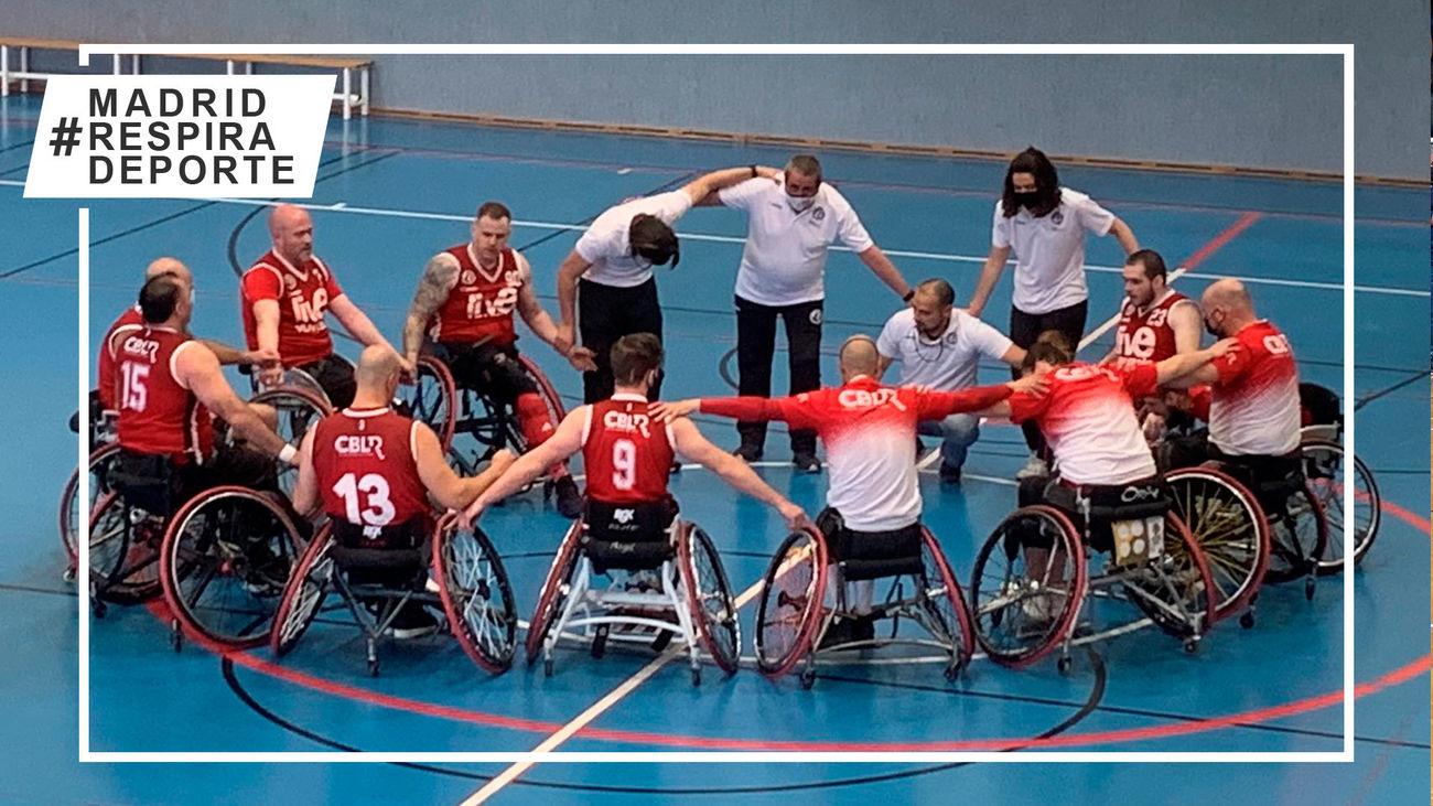 Las Rozas gana al Zuzenak y da un paso hacía la permanencia en la liga de baloncesto en silla de ruedas