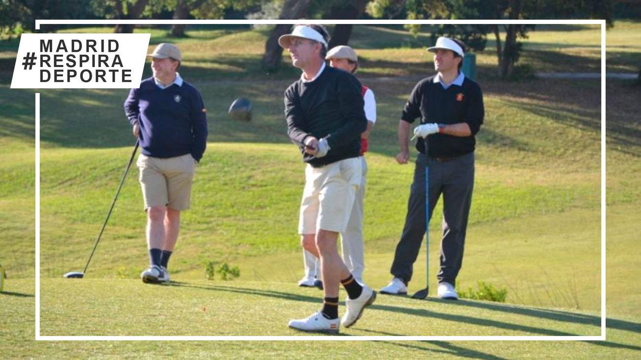 Club de Campo acoge la gran semana del golf nacional senior masculino