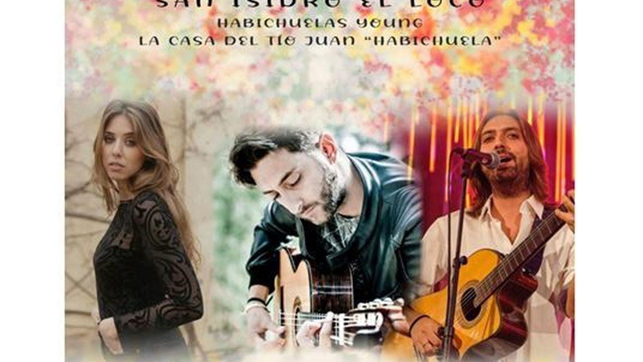 La familia Habichuela Young en las jornadas flamencas de Amor de Dios