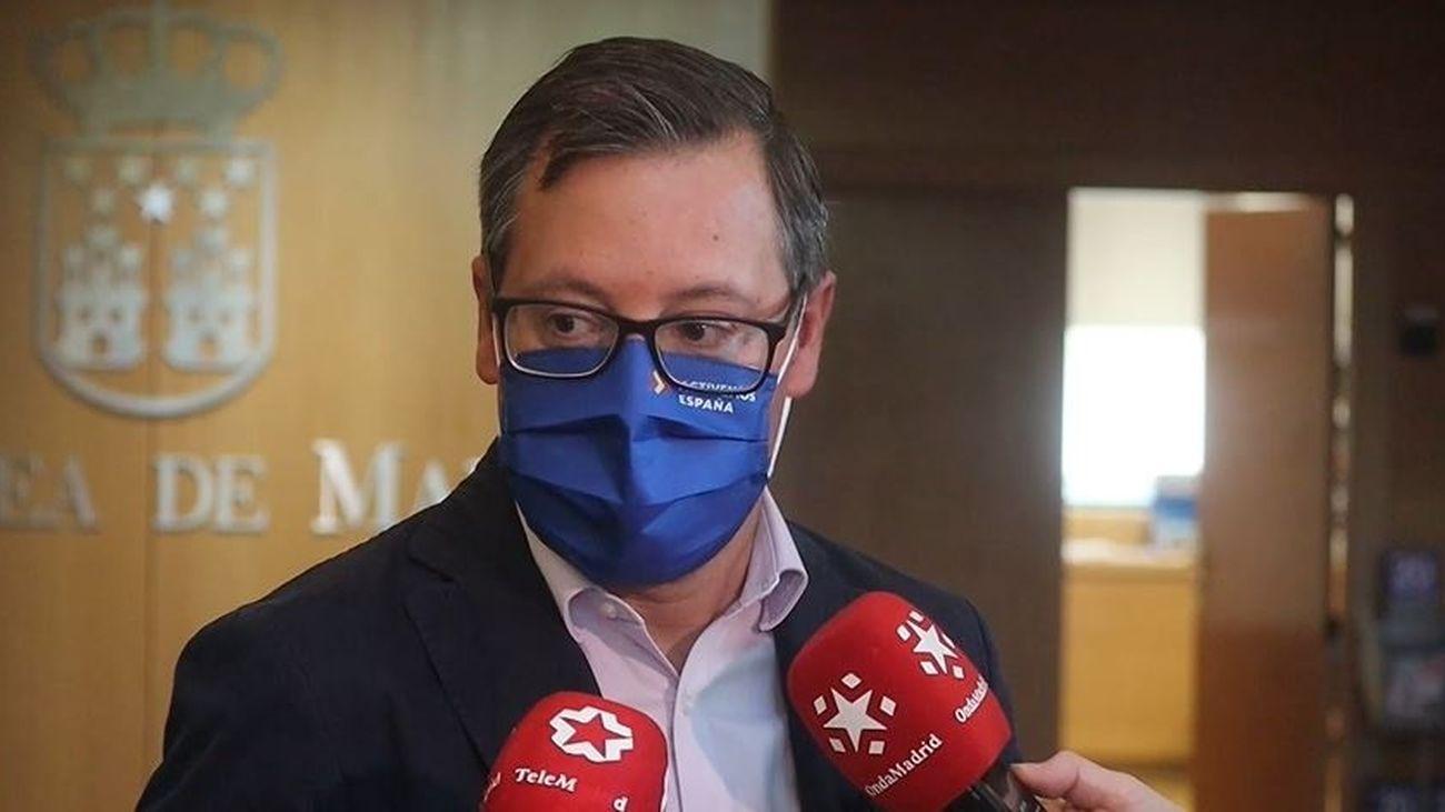 """Alfonso Serrano: """"El Gobierno de Pedro Sánchez y el PSOE han pagado sus ataques constantes  y su desprecio a los madrileños"""""""