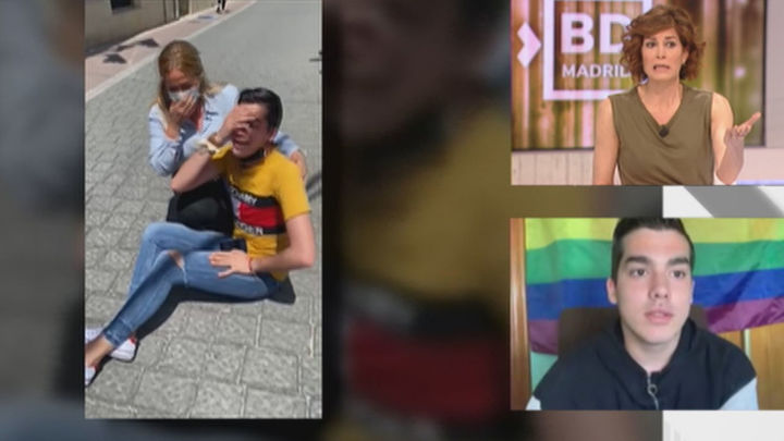 """El joven apaleado por su familia por ser homosexual: """"No me esperaba eso de mi madre"""""""