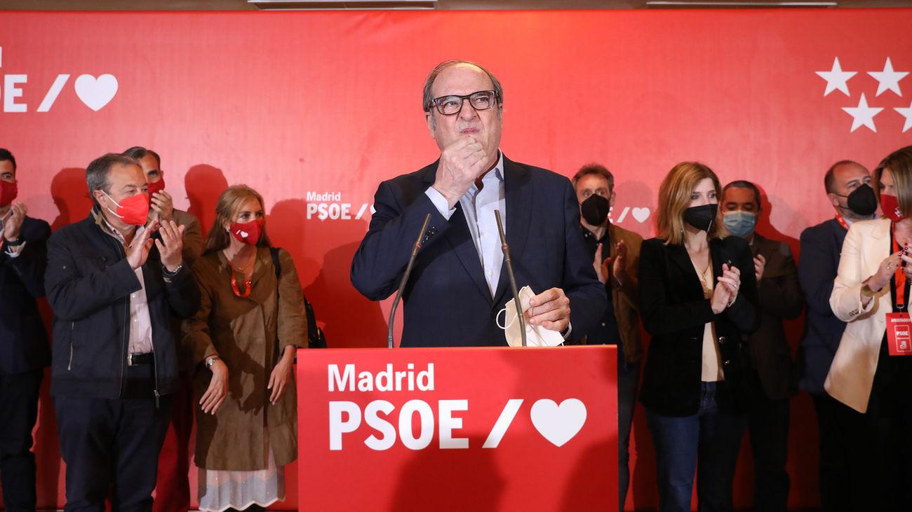 Gabilondo no se plantea dimitir y seguirá en la oposición en la Asamblea de Madrid