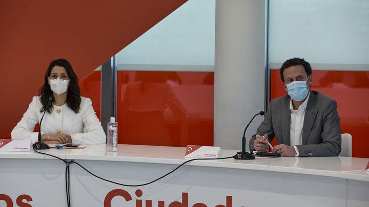 Arrimadas refuerza su equipo con Bal y Pérez como vicesecretarios generales