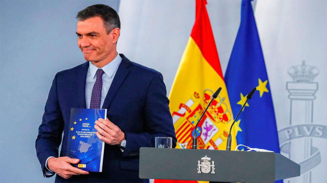 El presidente del Gobierno, Pedro Sánchez, presenta el plan de recuperación