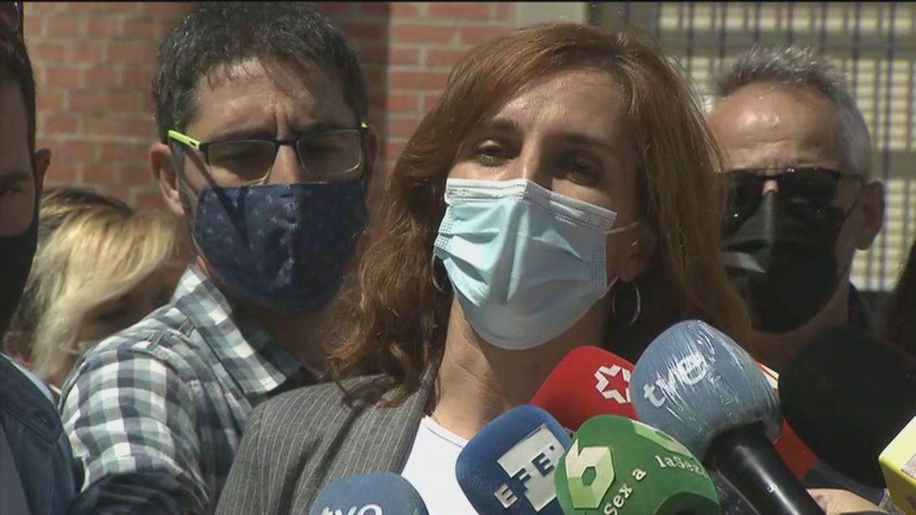 Mónica García, candidata de Más Madrid