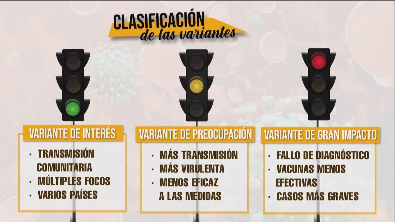 Así se clasifican las cepas de coronavirus según su peligrosidad. ¿Cuáles están en España?