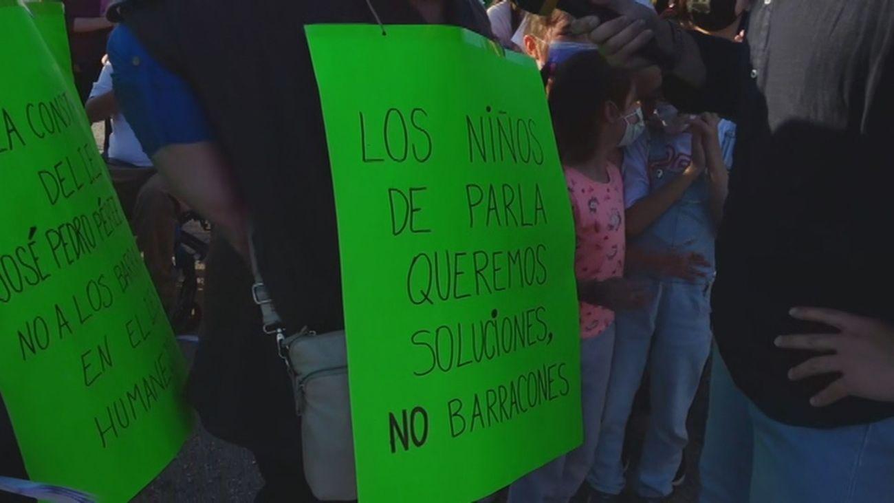 Los padres de Parla siguen reclamando la construcción del nuevo instituto