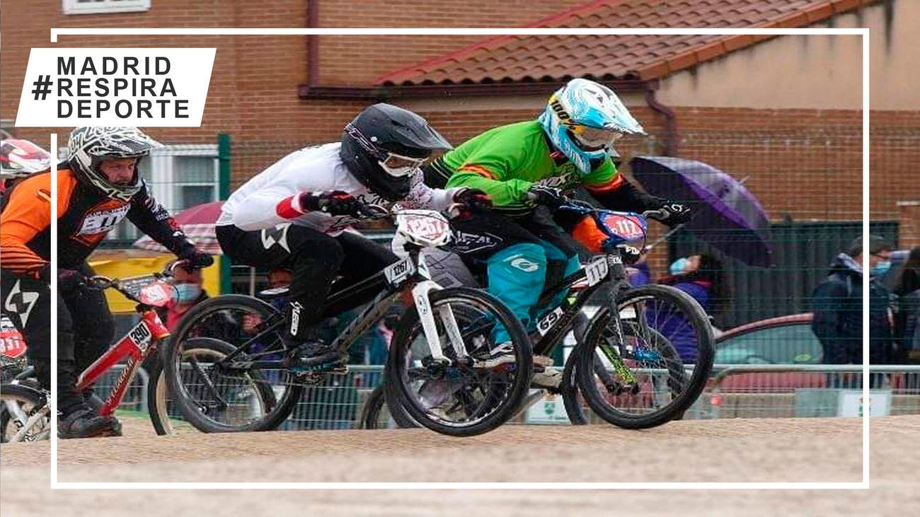 La Copa de Madrid de BMX desembarca en Arganzuela