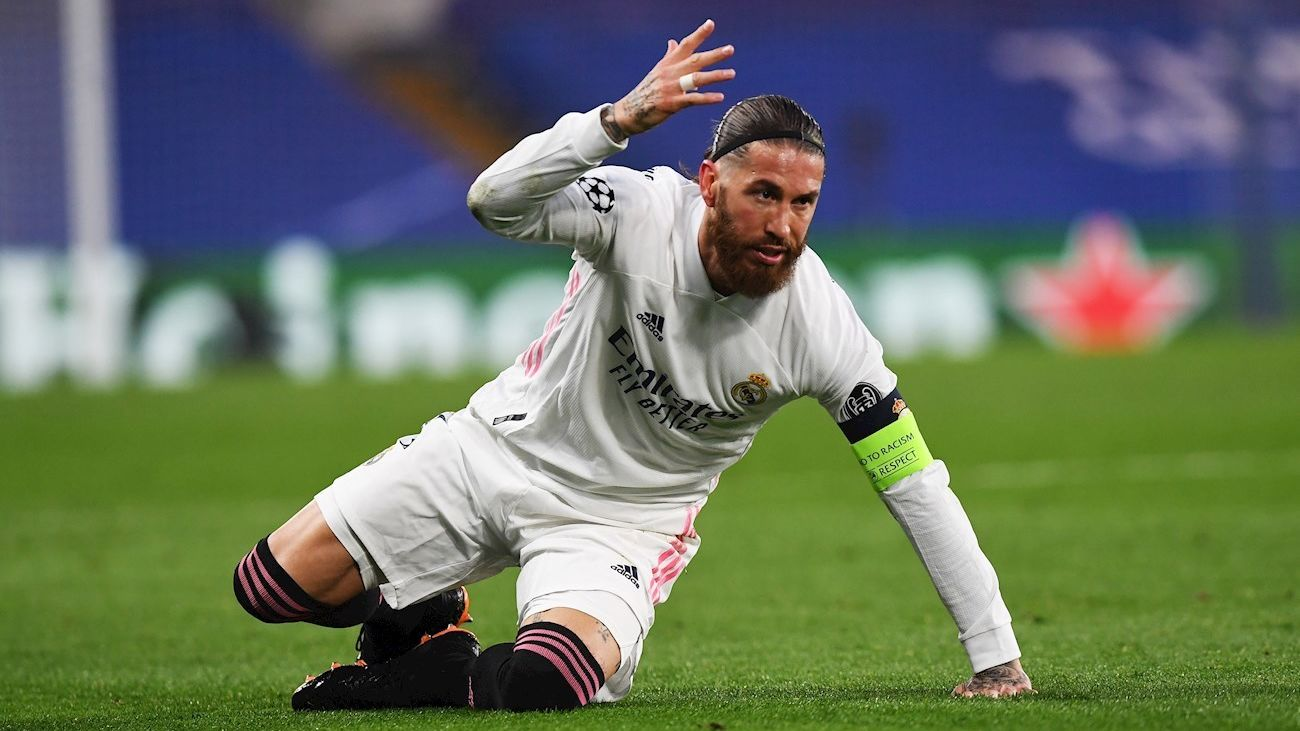 """Sergio Ramos: """"Jodidos, sí. Hundidos, nunca"""""""