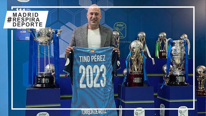 Movistar Inter renueva a Tino Pérez hasta 2023