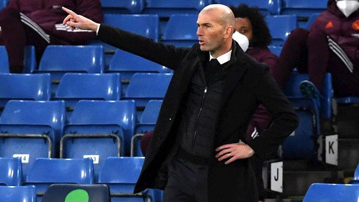 """Zidane no aclara su futuro: """"Solo pienso en la Liga, el resto será después"""""""