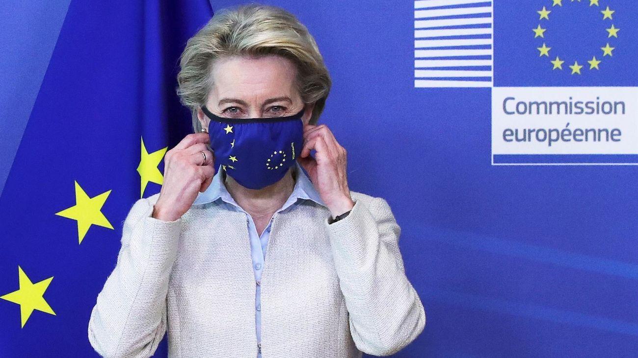 Ursula von der Leyen, presidenta de la Comisión Europea (CE)