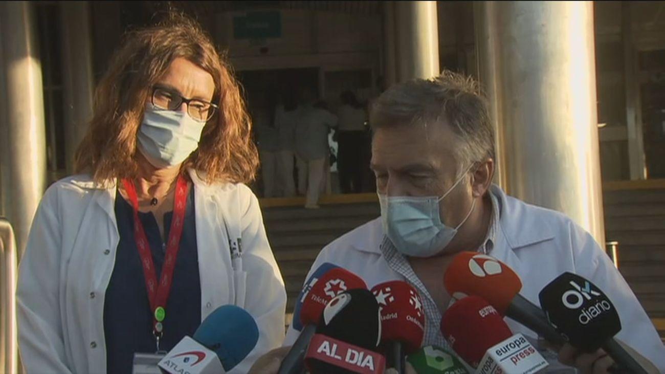 Gabilondo permanecerá esta noche en observación en el hospital Ramón y Cajal