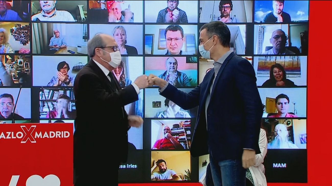 El encuentro entre Sánchez y Gabilondo marcará el futuro del socialismo madrileño