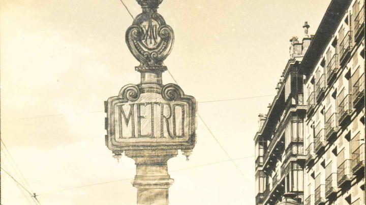 Madrid recuperará el histórico tótem de la estación de Cuatro Caminos