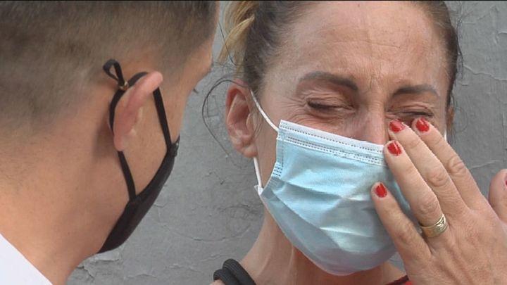 Solange, la vecina que canta en Puerta del Ángel para echar a sus okupas
