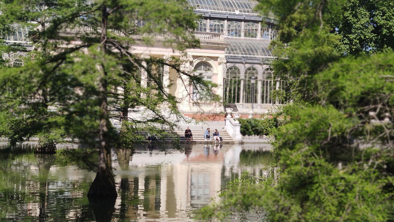 Escaleras junto al Palacio de Cristal, El Retiro