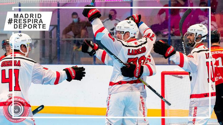Tres Cantos Patín, al asalto del primer partido de la final de la liga de hockey línea