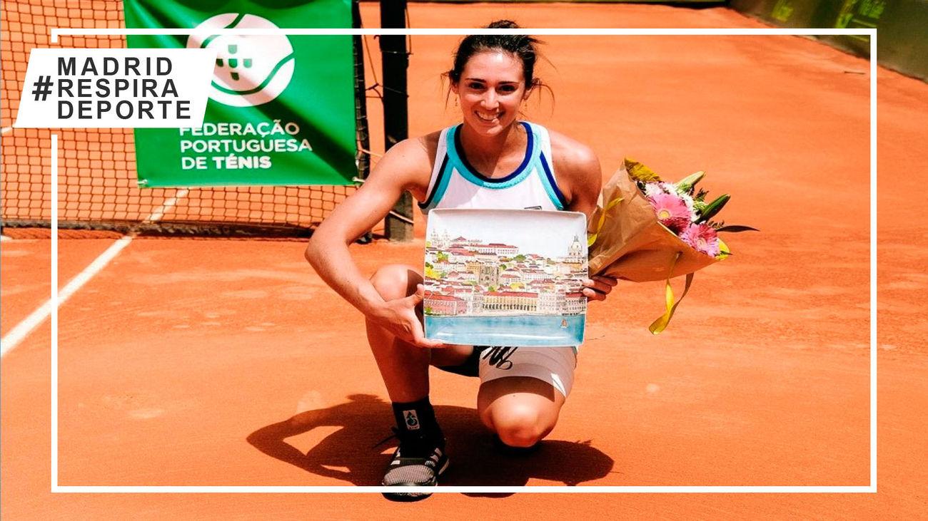 La madrileña María Gutiérrez conquista el ITF de Oeiras