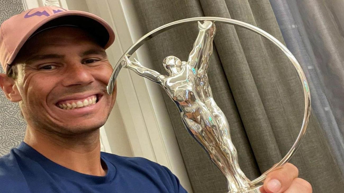 Nadal gana su cuarto Premio Laureus  al Mejor Deportista del Año
