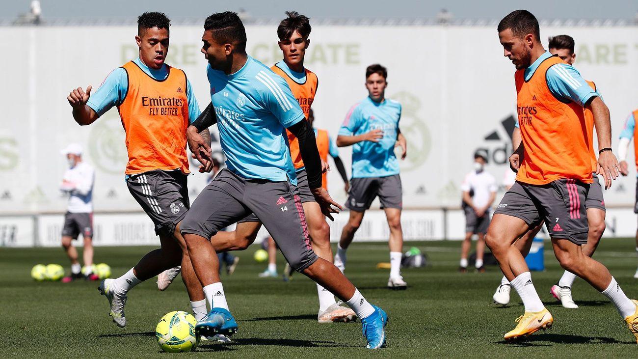 Real Madrid afina para la cita en el Di Stéfano contra el Sevilla