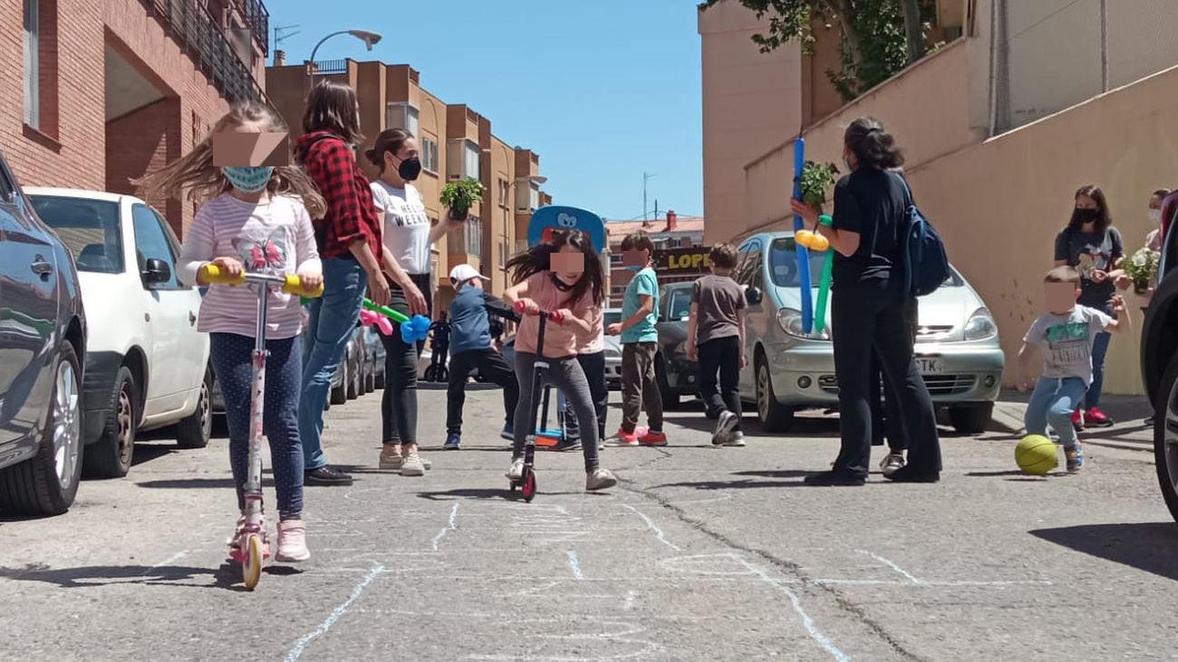 La 'revuelta escolar' vuelve a cortar las calles próximas a 28 colegios de Madrid