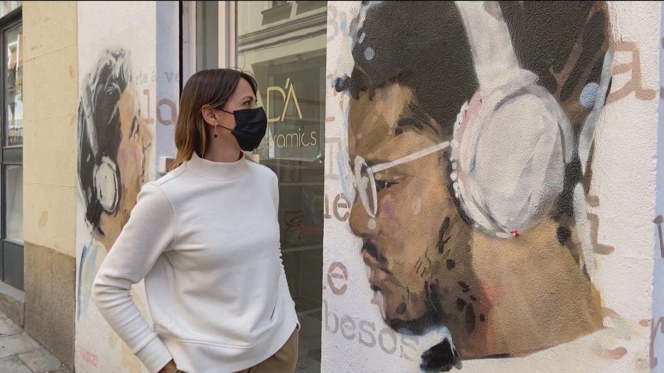 Lavapiés se convierte en un escaparate de arte en plena calle