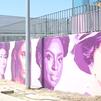 Rivas-Vaciamadrid inaugura una réplica del mural feminista de Ciudad Lineal