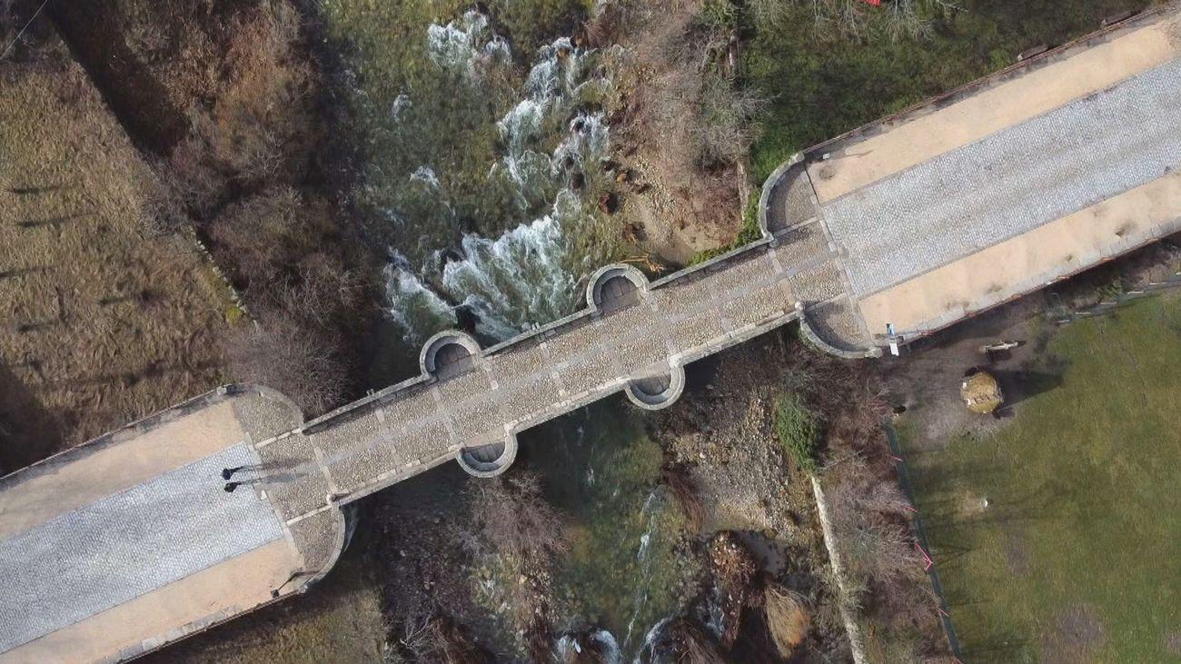 Madrid desde el aire: Los caminos del agua