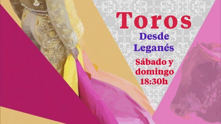Vuelven los toros a La Cubierta de Leganés en una feria taurina que podrás ver en Telemadrid