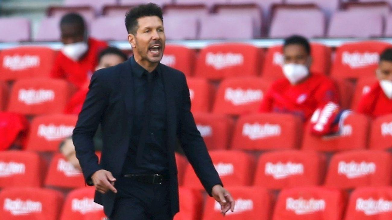 """Simeone: """"Esto será así hasta el final; partido a partido"""""""
