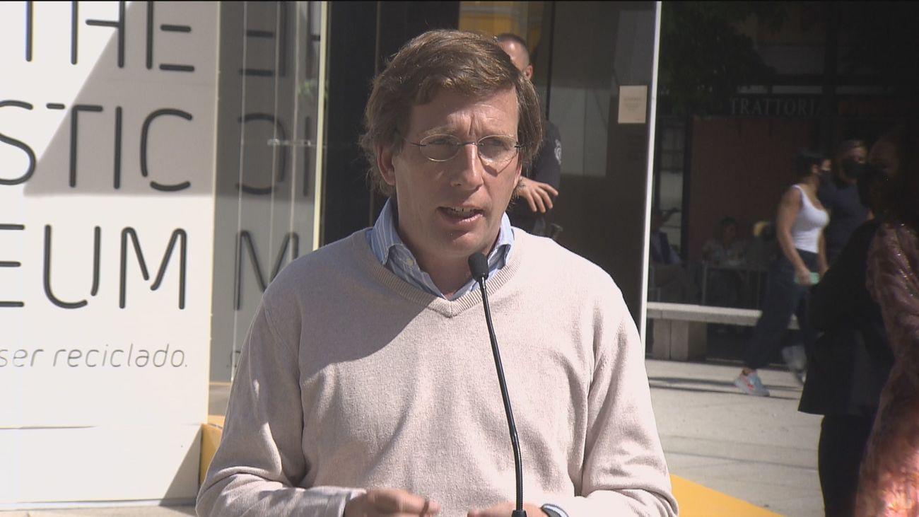 """Almeida critica al Gobierno por dejar a las CCAA en """"situación de debilidad"""" tras el estado de alarma"""
