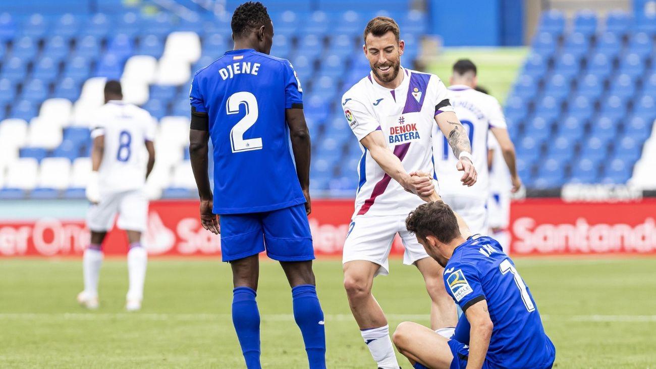 0-1. Maksimovic da aire al Eibar y complica al Getafe