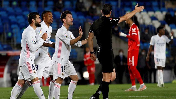 2-2. El VAR castiga al Real Madrid, que rescata un punto ante el Sevilla