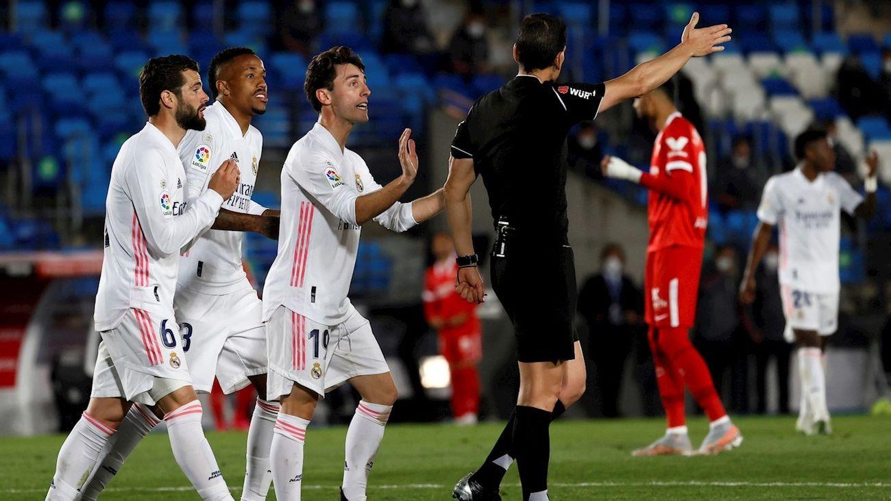 Real Madrid ante el Sevilla
