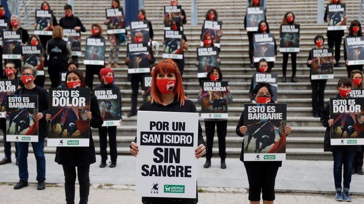 Organizaciones animalistas reclaman en Vistalegre  unas fiestas de San Isidro sin toros