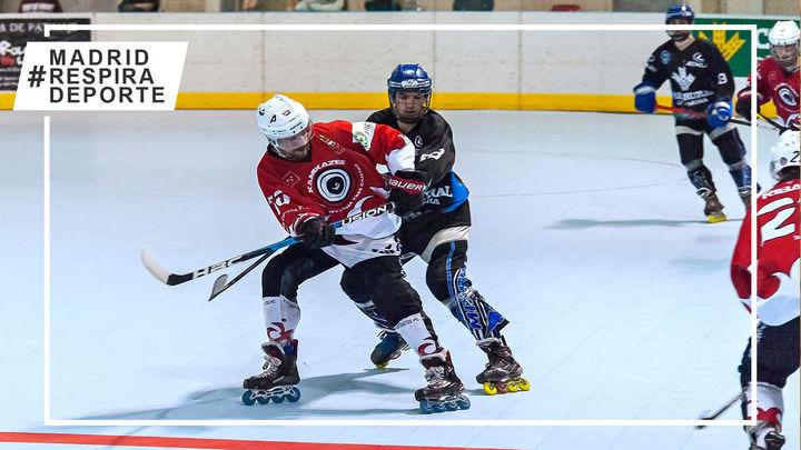 Tres Cantos Patín se aleja del título de la liga de hockey línea tras perder el primer partido